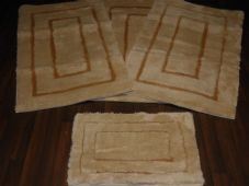 ROMANY GYPSY WASHABLES GERMAN STYLES TRAVELLER MATS THICK SETS OF 4 NICE QUALITY